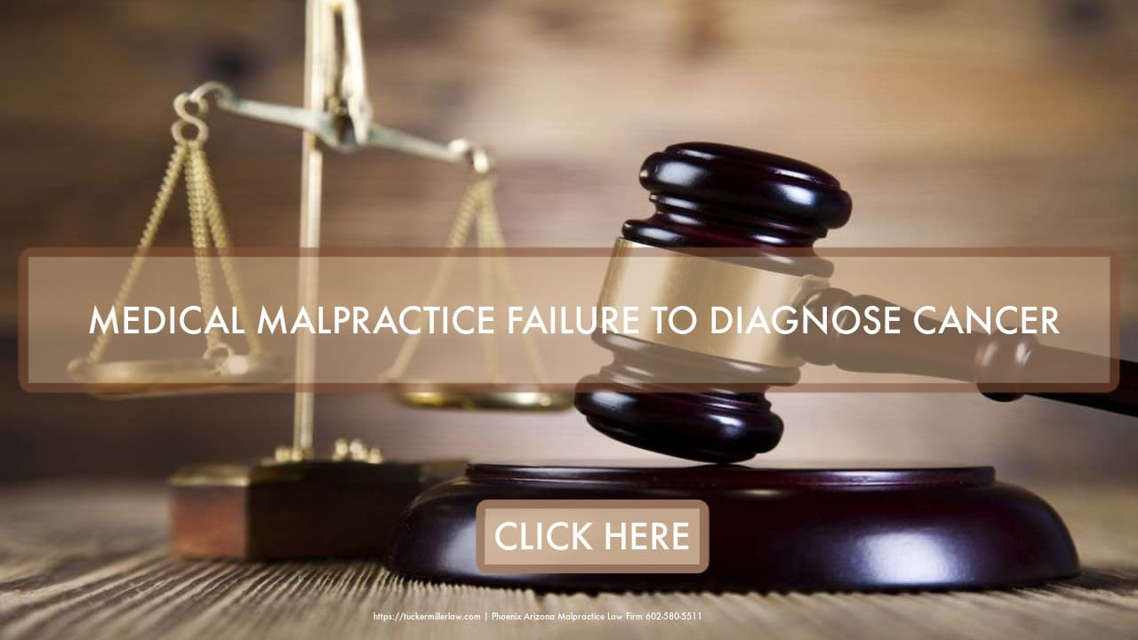 Graphic Stating Failure To Diagnose Attorney